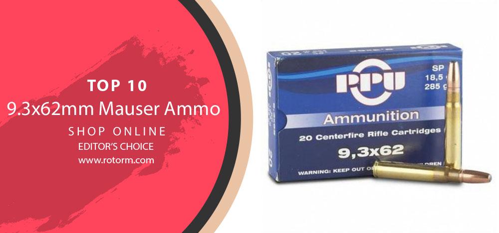 Best 9.3x62mm Mauser Ammo - Editor's Choice