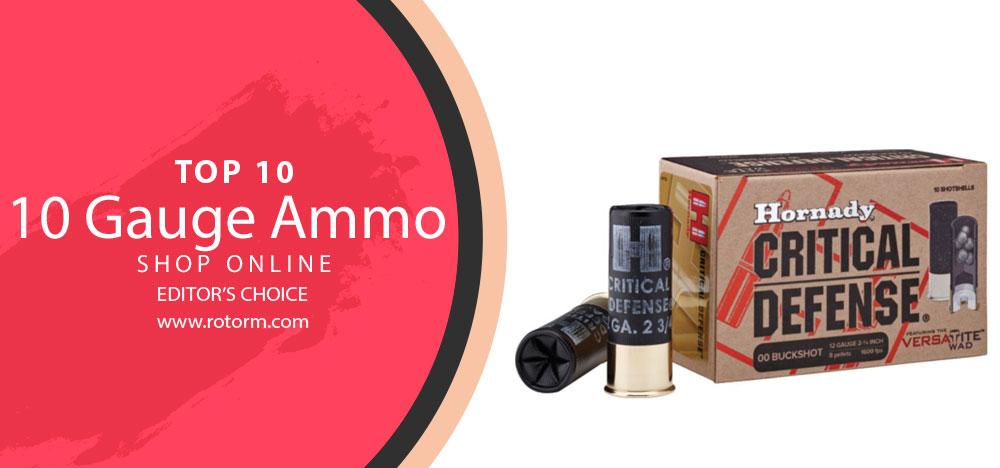 Best 10 Gauge Ammo - Editor's Choice