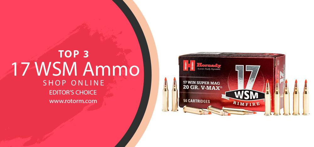 Best 17 WSM Ammo - Editor's Choice