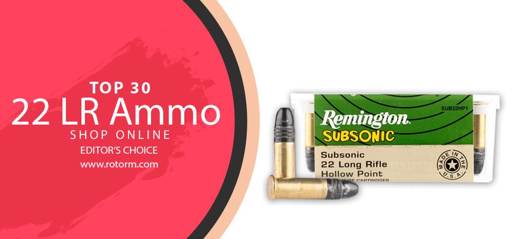 Best 22 LR Ammo - Editor's Choice