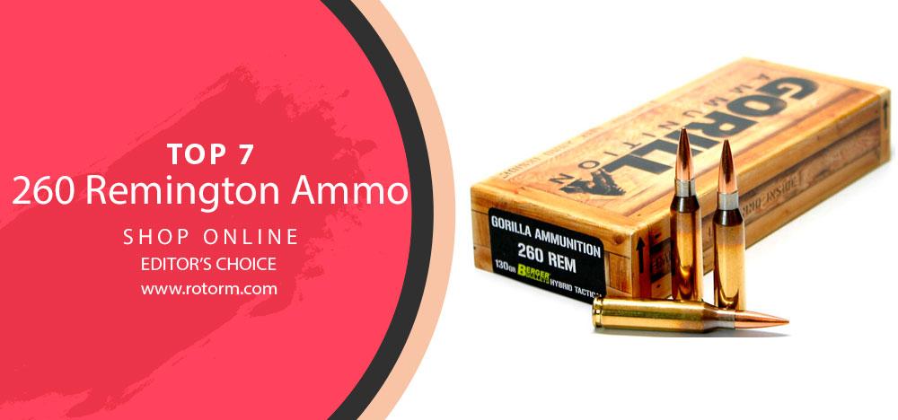 Best 260 Remington Ammo