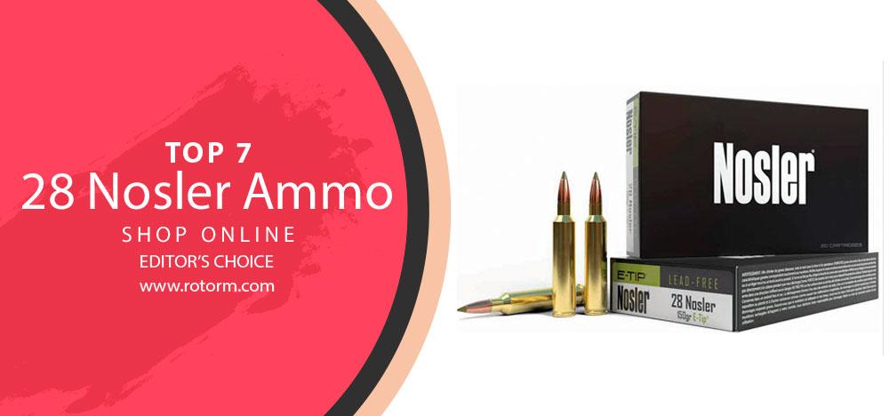 Best 28 Nosler Ammo