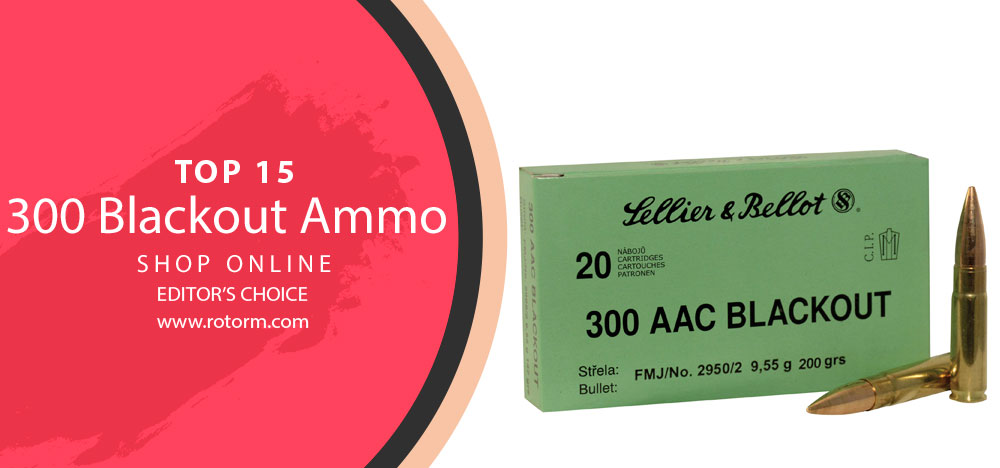 Best 300 Blackout Ammo - Editor's Choice