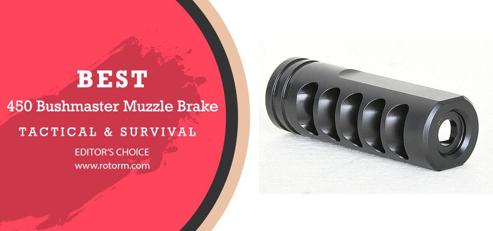 Best 450 Bushmaster Muzzle Brake - Editor's Choice