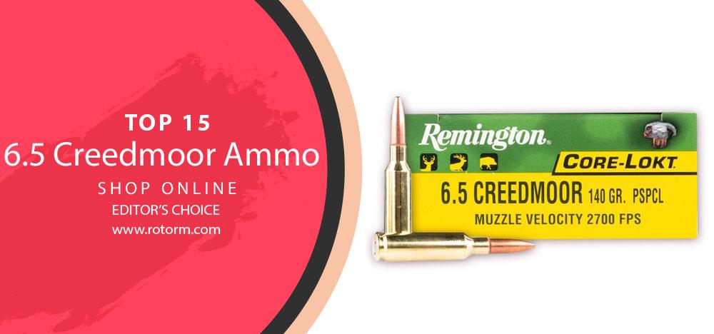 Best 6.5 Creedmoor Ammo - Editor's Choice