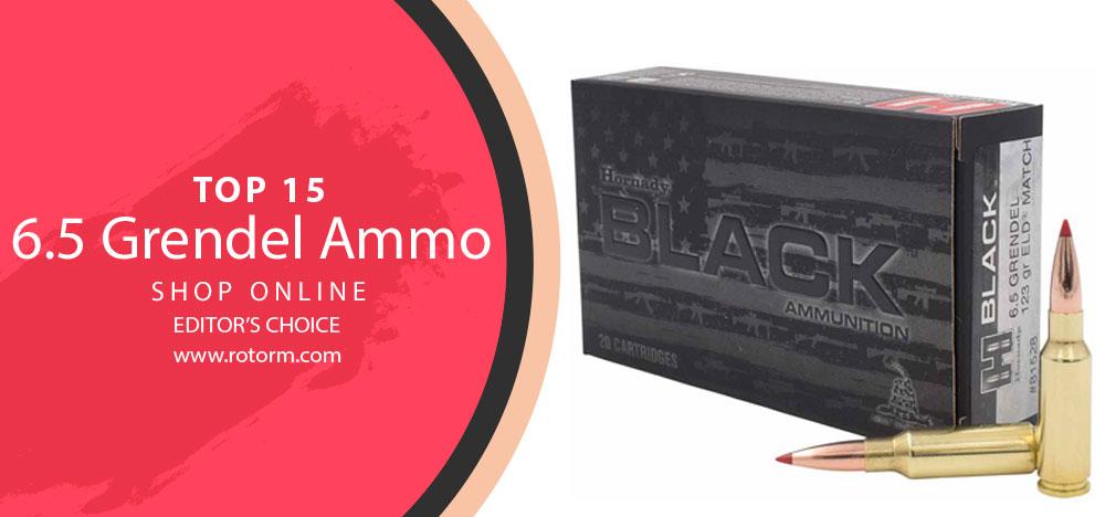 Best 6.5 Grendel Ammo