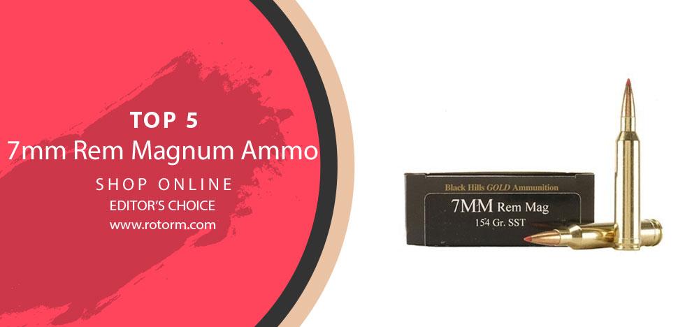 Best 7mm-08 Rem Ammo - Editor's Choice