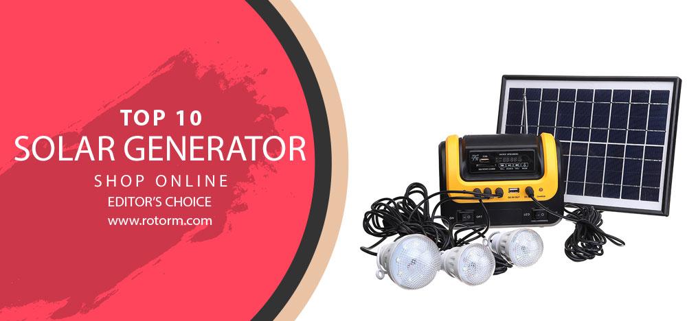 Best Solar Generator - Editor's Choice