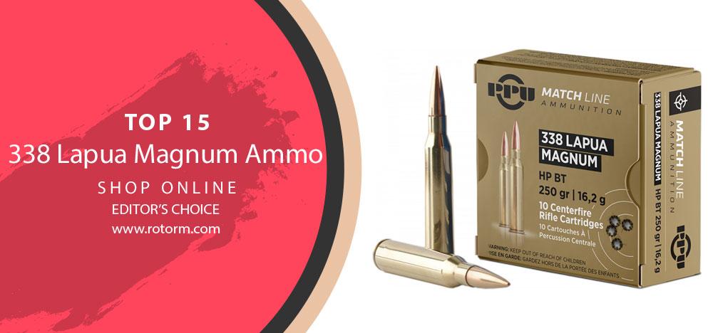 Best 338 Lapua Magnum Ammo - Editor's Choice