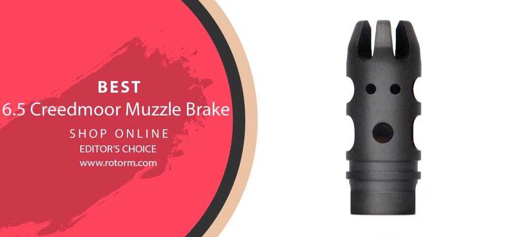 Best 6.5 Creedmoor Muzzle Brake - Editor's Choice