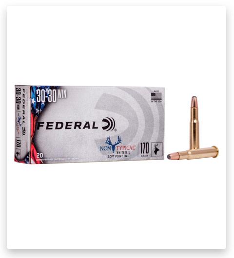 Federal Premium Non-Typical 30-30 Winchester Ammo 170 grain