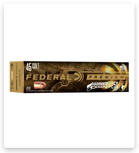 Federal Premium Centerfire Handgun 45 Colt Ammo 250 grain