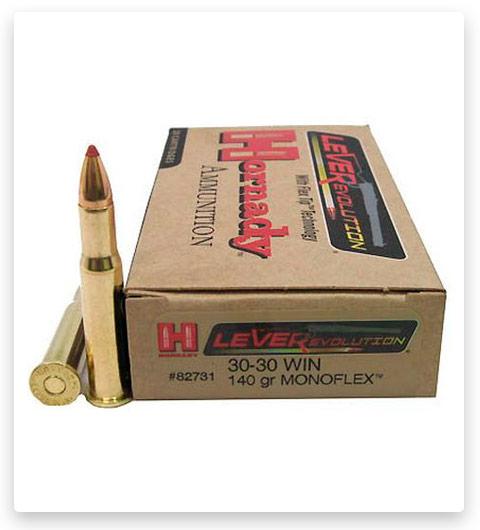 Hornady LEVERevolution 30-30 Winchester Ammo 140 Grain