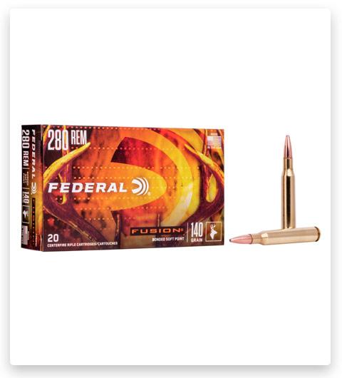 Federal Premium FUSION 280 Remington Ammo 140 grain