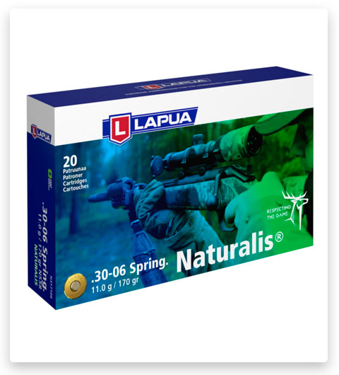 Lapua Naturalis 30-06 Springfield Ammo 170 grain