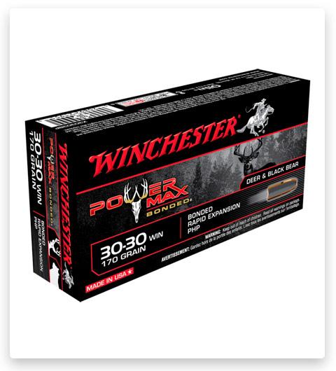 Winchester POWER MAX BONDED 30-30 Winchester Ammo 170 grain