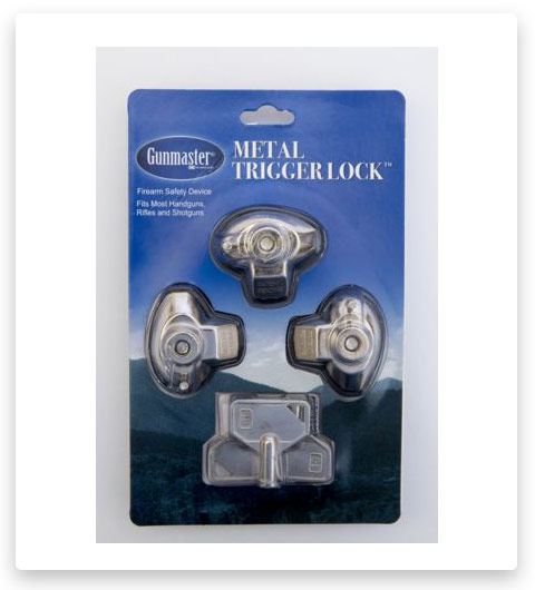 DAC Technologies Triple Pack Metal Trigger Lock