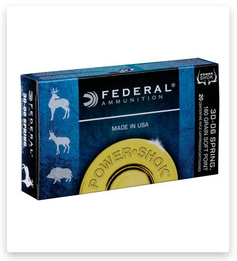 Federal Premium Power-Shok 30-06 Springfield Ammo 180 grain