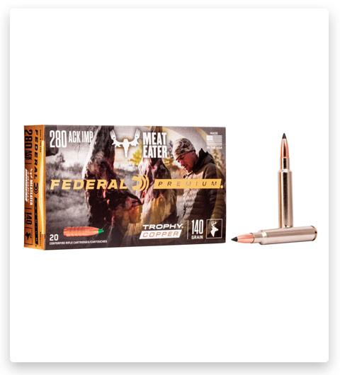 Federal Premium TROPHY COPPER 280 Remington Ammo 140 grain