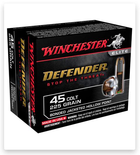 Winchester DEFENDER HANDGUN 45 Colt Ammo 225 grain