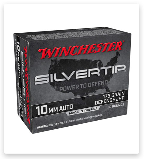 Winchester SUPER-X HANDGUN 10mm Auto Ammo 175 grain
