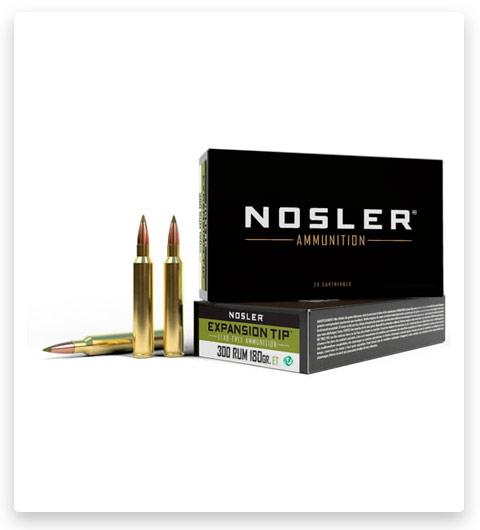 Nosler 300 Remington Ultra Magnum E-Tip Ammo 180 grain