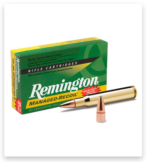 Remington Managed-Recoil Rifle 30-30 Winchester Ammo 125 Grain