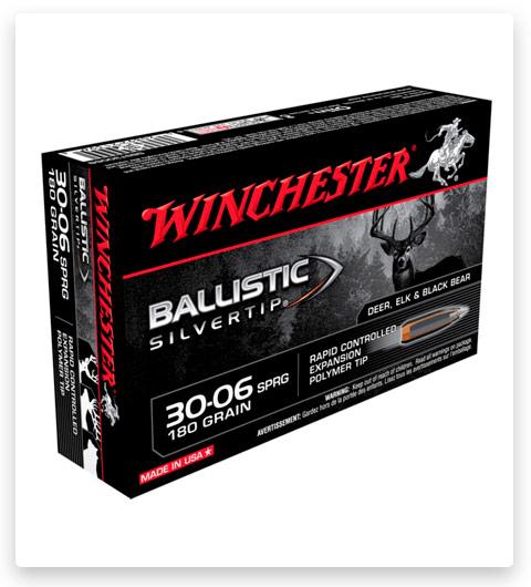 Winchester BALLISTIC SILVERTIP 30-06 Springfield Ammo 180 grain