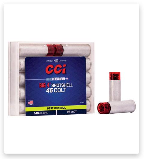 CCI Pest Control Big 4 Shotshell 45 Colt Ammo 140 grain