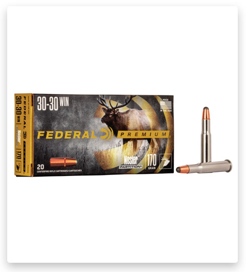 Federal Premium VITAL-SHOK 30-30 Winchester Ammo 170 grain