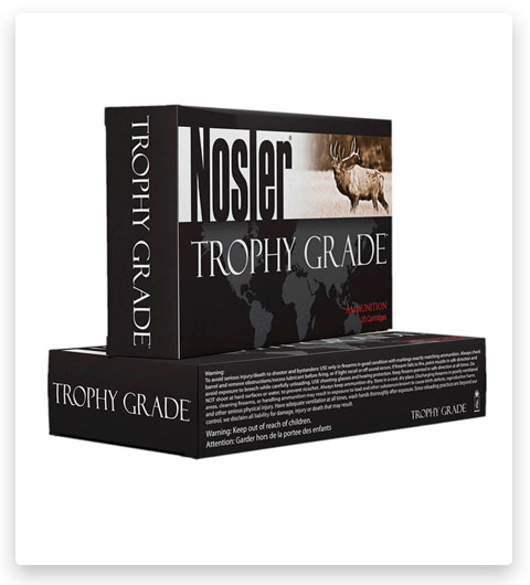 Nosler Trophy Grade 30-06 Springfield Ammo 180 Grain