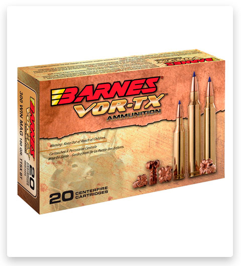 Barnes Vor-Tx 30-06 Springfield Ammo 180 grain