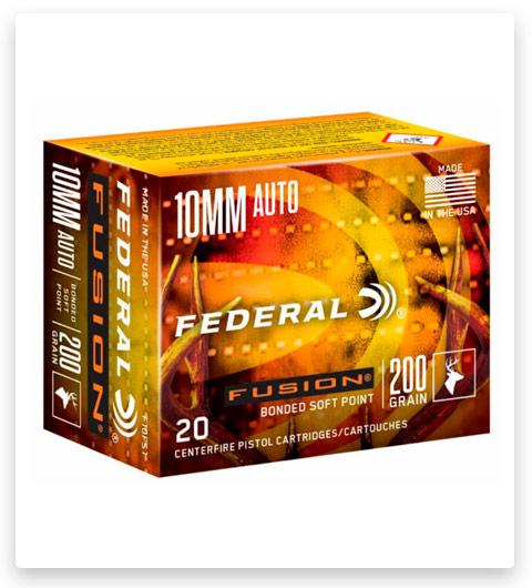 Federal Premium Centerfire Handgun 10mm Ammo 200 grain