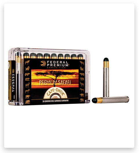 Federal Premium CAPE-SHOK 458 Lott Ammo 500 grain