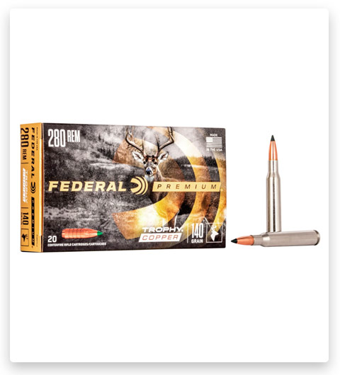 Federal Premium VITAL-SHOK 280 Remington Ammo 140 grain
