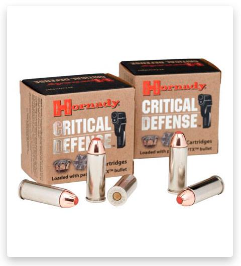 Hornady Critical Defense 45 Colt Ammo 185 Grain