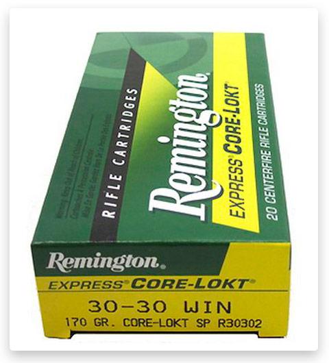 Remington Core-Lokt 30-30 Winchester Ammo 170 Grain