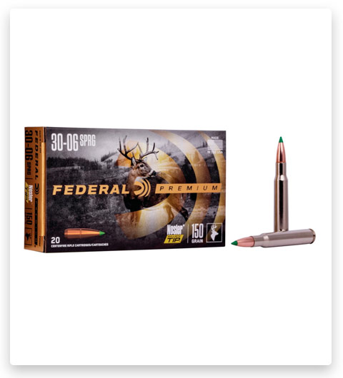Federal Premium VITAL-SHOK 30-06 Springfield Ammo 150 grain