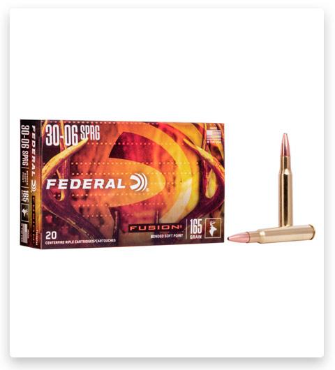 Federal Premium FUSION 30-06 Springfield Ammo 165 grain