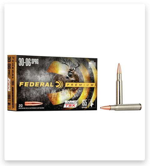 Federal Premium BARNES TSX 30-06 Springfield Ammo 165 grain