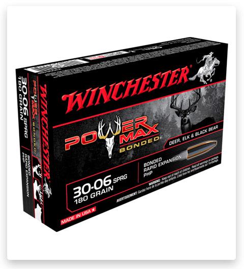 Winchester POWER MAX BONDED 30-06 Springfield Ammo 180 grain