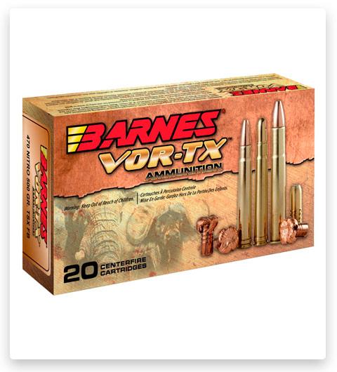 Barnes Vor-Tx Safari Centerfire 416 Remington Magnum Ammo 400 grain