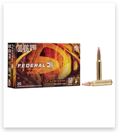 Federal Premium FUSION 30-06 Springfield Ammo 150 grain