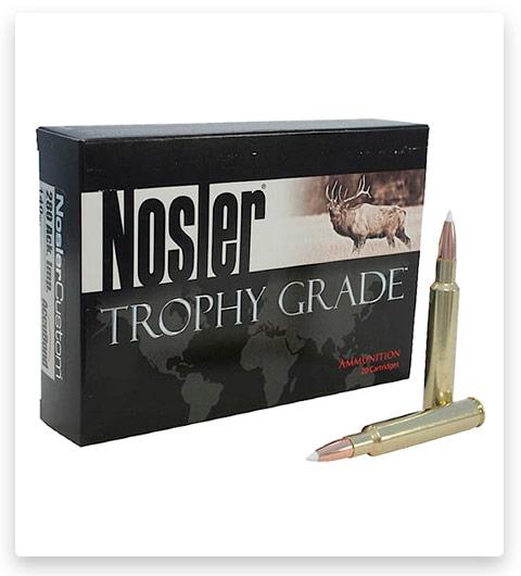 Nosler Trophy Grade 280 Remington Ammo 140 Grain