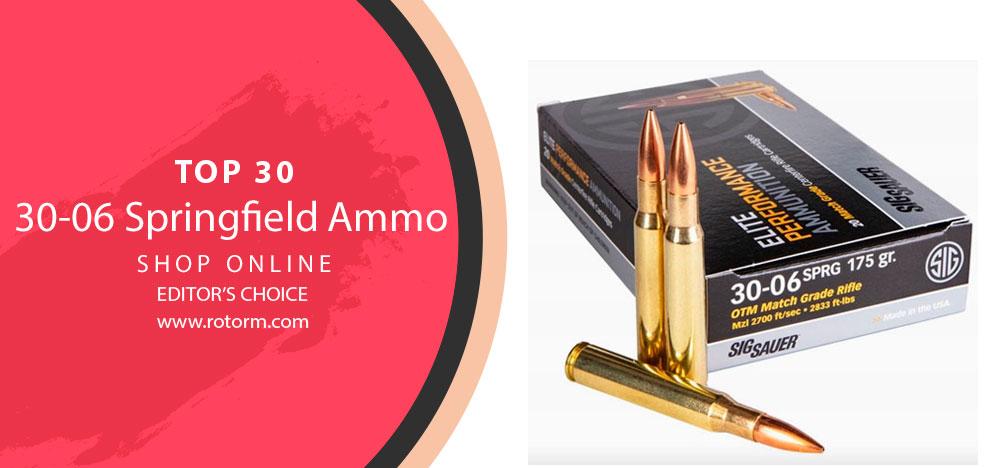 Best 30-06 Springfield Ammo Editor's Choice