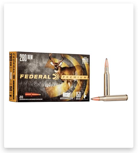 Federal Premium VITAL-SHOK 280 Remington Ammo 150 grain