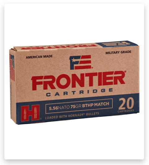 Hornady Frontier 5.56x45mm NATO Ammo 75 Grain