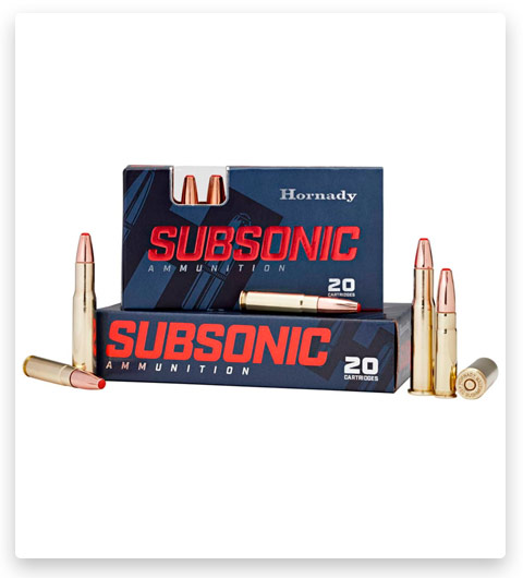 Hornady Subsonic 30-30 Winchester Ammo 175 Grain