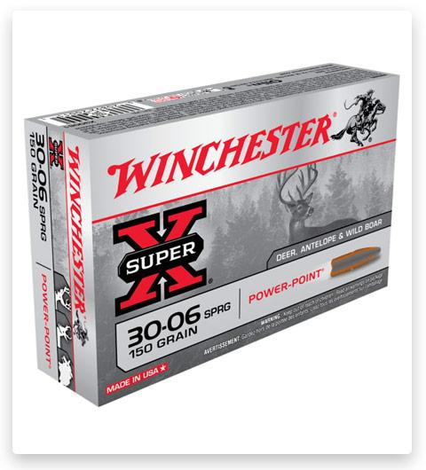 Winchester SUPER-X RIFLE 30-06 Springfield Ammo 150 grain