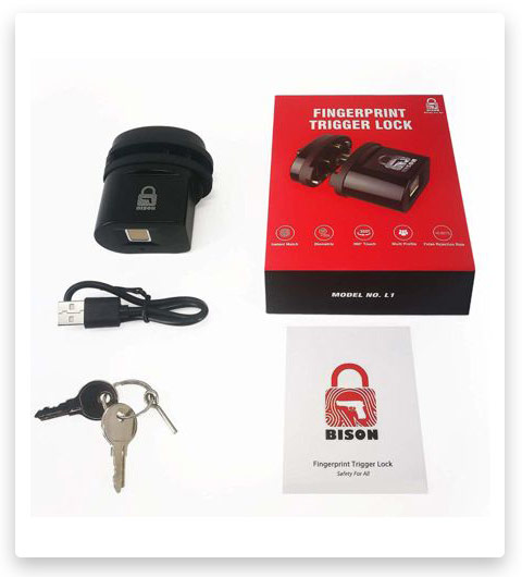 Bison L2 Biometric Fingerprint Trigger Lock